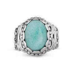 Carolyn Pollack Changing Seasons Amazonite Bold Ring 10