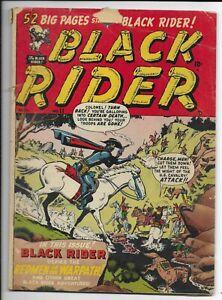 Black Rider #11 1950 CDS Golden Age Western Comic Book VG