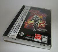 Grid Runner Sega Saturn Game Complete CIB Nice Shape & Fun w/ Reg Card
