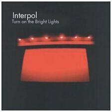 Interpol Turn on the bright lights (2002) [CD]