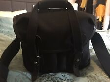 Billingham 106 Camera System Bag Black With Black Leather Small Exc Mirrorless