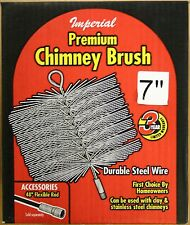 "7"" Imperial Round Wire Chimney Brush - New in Box"