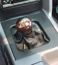 Ford Mustang Shift Knob 1979-2004 Walnut with Gold Inlay