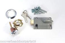 Garage Door Deadbolt Lock Kit, With 2 Keys