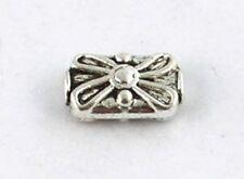 20 PCS Tibetan silver flower spacer beads T8349 FREE SHIP