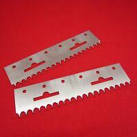 2x 40er Anschlagkämme Einhängekämme f Strickmaschine - cast-on-combs hangercombs