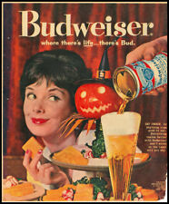 1060s vintage ad for Budweiser Beer
