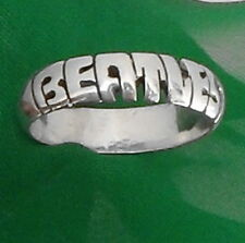 THE BEATLES,name STERLING SILVER Ring,ANY SIZE