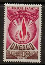 Francia sgu10 1969 UNESCO 40c MNH