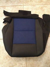 06-09 Ford Ranger Factory Original RH/PASS Seat Cover (Black/Blue Cloth)