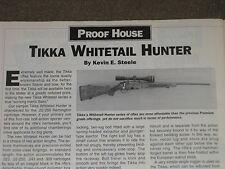 GUNS & AMMO TEST, SIGMA 380, S&W 640, TIKKA, SAIGA 410