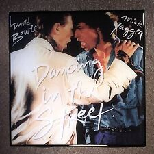 David BOWIE Mick JAGGER Dancing In The Street Coaster Record Cover Ceramic Tile