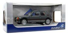 Solido 421185090 - 1/18 Peugeot 205 GTI MK2 - Gris Magnum - Neu