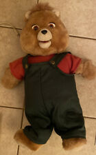 Vintage Wow 1985 Teddy Ruxpin Bear with Answer Box