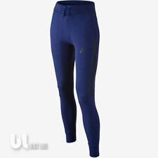 ebfb4d5c21 Nike Tech Fleece Thermo Hose Mädchen Trainingshose Girls Sport Jogginghose  Blau