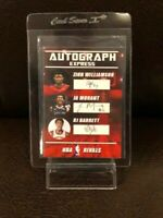 JA MORANT ROOKIE CARD/ZION WILLIAMSON - RARE CUSTOM AUTOGRAPH - MINT CONDITION