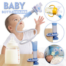 Handfree 360° Adjustable Baby Water Milk Bottle Holder Bracket Long Arms Stand