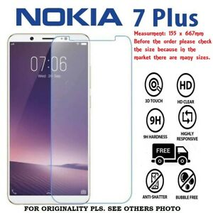 Nokia 7 Plus Screen Protector Best Tempered Glass Thin 100% Protection UK