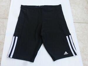 Adidas elastische 3/4 Jogginghose Tight Laufhose Gr.36-38