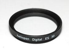 Heliopan UV-Filtro es 30mm x 0,75 remunerati Slim-Made in Germany (Nuovo/Scatola Originale)
