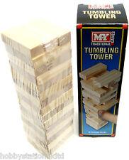 Wooden Towering Blocks Tumbling Tower Tumblin Towers Mini Jenga Blocks Wooden