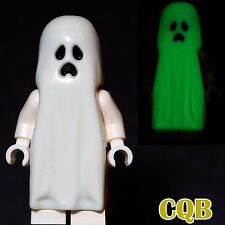 NEW LEGO - CASTLE - Glow in Dark Ghost - 9467 Pointed Top Shroud Monster Fighter