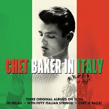 2 CD BOX CHET BAKER IN ITALY - IN MILAN - IS BACK - WITH 50 ITALIAN STRINGS
