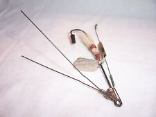 VINTAGE HEDDON STANLEY WEEDLESS PERFECTION HOOK FISHING LURE spinner