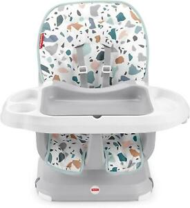 Fisher Price Terrazzo Baby Table Space Saver High Chair