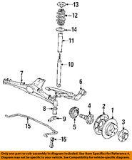 BMW OEM 1991 318i Rear Suspension-Strut 33521132123