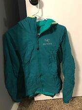 NWT Women's Arcteryx Atom LT Hoody Jacket M Malachite Teal Blue Green