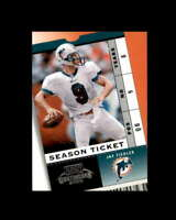 Jay Fiedler Card 2003 Playoff Contenders Orange County #18 Miami Dolphins 3/5