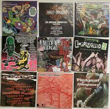 9 CD LOT OF RARE METAL & PUNK COMPILATIONS: Earache, Metal Edge, New Sckoool