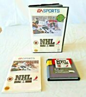 Vintage 1993 SEGA GENESIS ~ SPORTS NHL '94 ~ Video Game Box & Instructions Works