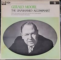 Gerald Moore – The Unashamed Accompanist - HMV mono LP record