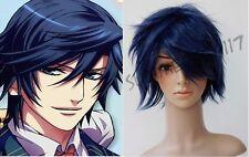 Tokiya Ichinose Short Dark Blue COSPLAY Wig 92100 Uta no Prince-sama