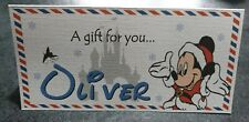 DISNEY *MICKEY/MINNIE* CHRISTMAS HOLIDAY/TRAVEL POUCH MONEY GIFT  WALLET