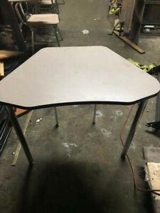 Lot of 2 - Used School Furniture - Adjustable Student/Classroom Table - 15 stock