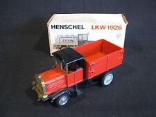 Henschel-Modell Henschel LKW 1926 1:50 Red (JvM)