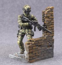 Toy Soldiers 54mm Modern Warrior Special Forces Commando 1/32 Hand Painted