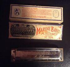 M. HOHNER Harmonica MARINE BAND Made In Germany No 1896 Key C