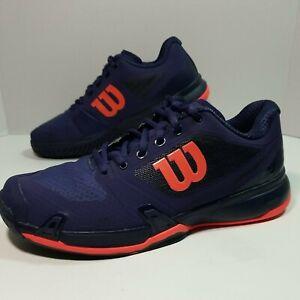 Wilson Rush Pro 2.5 Men's Tennis Shoes size 8.5 Spectrum Blue Racquet WRS322610.