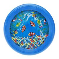 Ocean Wave Bead Drum Gentle Sea Sound Musical Educational Toy Tool for Baby Q6F