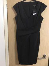 TOPSHOP BODYCON DRESS CAP SLEEVE SMART CLUBBING  Size 14