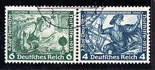 Germany - 1934 Wagner se-tenants Mi# W47, W49