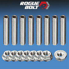 SBC VALVE COVER STUD KIT BOLTS STAINLESS STEEL SMALL BLOCK CHEVY 283 327 350 400