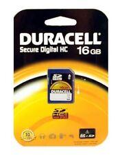 Memory card per cellulari e palmari Classe 4 SDHC con 16 GB di archiviazione