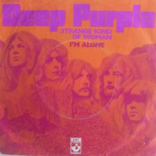 """7"""" 1971 Rock! Deep Purple Strange Kind of Woman/MINT -? \"""