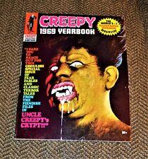 VTG Creepy Magazine 1969 Yearbook VG/F