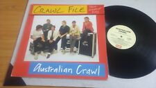 "AUSTRALIAN CRAWL THEIR GREATEST HITS  LP RECORD 12"" w/INNER"